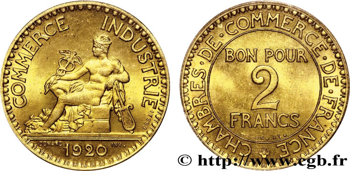 Pi ce de monnaie 2 francs chambres de commerce for Chambre de commerce de france bon pour 2 francs 1923