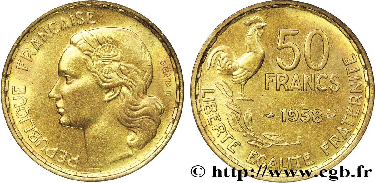 piece de monnaie 50 francs