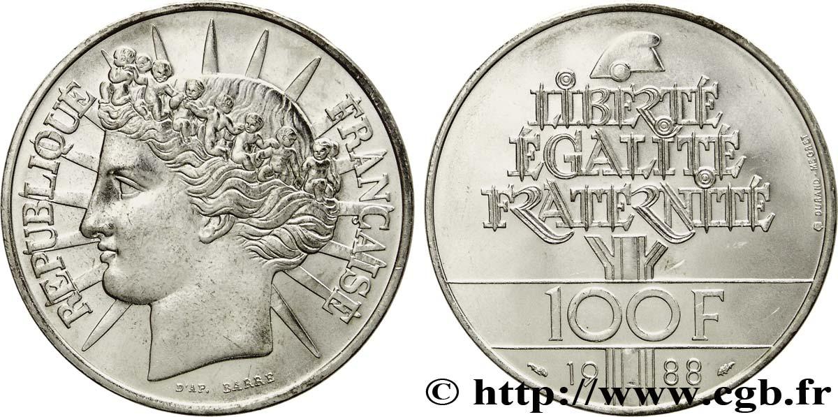 Piece De Monnaie 100 Francs Fraternite
